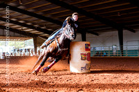 BarrelRacing CaneyCreek OpenShow 1-31-2015 Youth